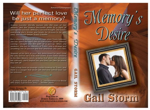 Memory's Desire by Gail Storm